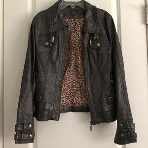 Le Château vegan leather jacket